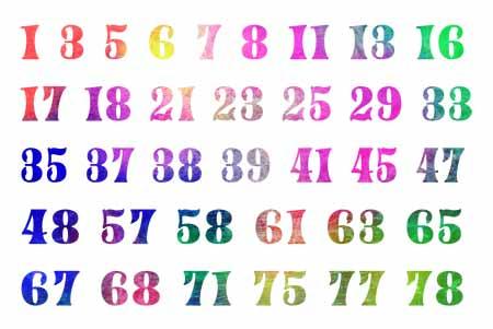 81数理 普通の吉数